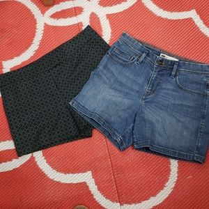 BUNDLE ! Levi's & Kenar shorts size 4